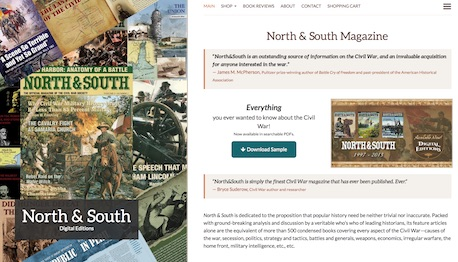 North and South e-commerce site